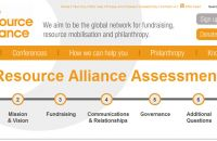 Resource Alliance; Assessment Tool; Hilfe beim Fundraising