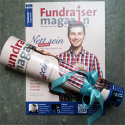 Magazin Abo abo fundraiser magazin